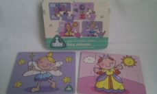 Adorable ELC Set of 4 Baby 'Fairy Princess' Puzzles Boxed Age: 18 mths- 3  years